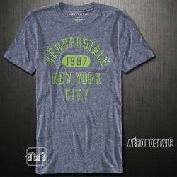 ~Aeropostale 1987 NYC Logo Navy 410 Graphic Tshirt