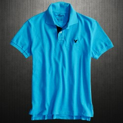 ~American Eagle Outfitters Mens AE Contrast Placket Polo