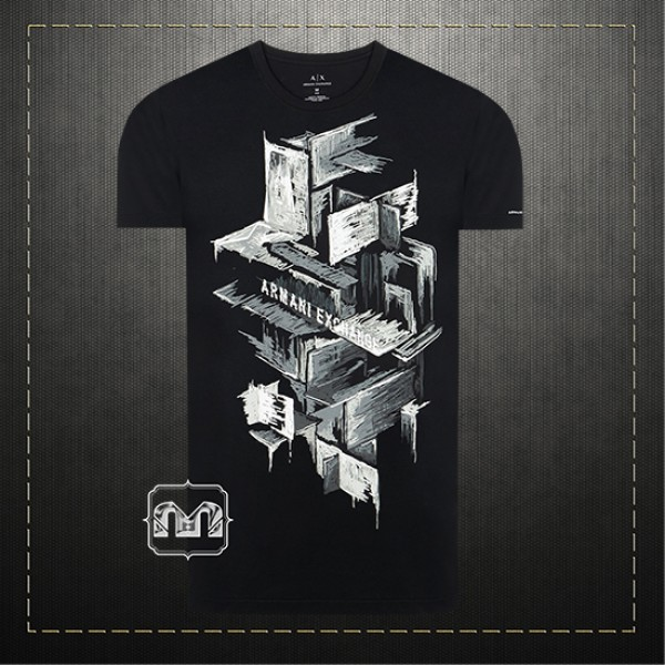 a54c2fe0 Armani Exchange AX Men Black Boxed Graphic Tee Printed Tshirt | Malaabes  Online Shopping Store in Egypt Promoting Original Mens Designer Clothing  Brands