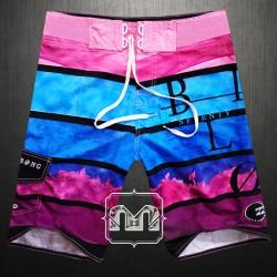 ~Billabong Blox Frequency Multicolor Boardshort Swimwear In Pink & Blue