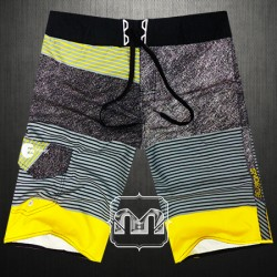 ~Billabong PX3 Multicolor Striped Platinum X Gravity Recycler Boardshort Swimwear