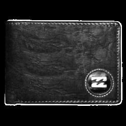 ~Billabong Genuine Learther Bifold Grey Wallet