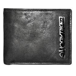 ~Billabong Bifold Genuine Leather Grey Wallet