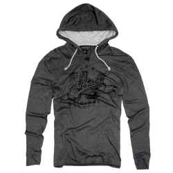 ~Buffalo Nentral Dark Grey Sweatshirt With Hood