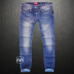 ~Celio ROVIO Violet Narrow Fit Blue Denim Jeans