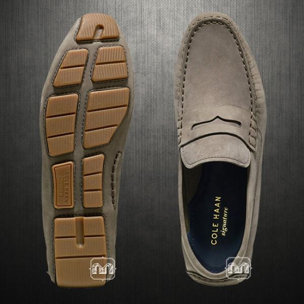 722c0e5f812 ~Cole Haan Men Kelson Penny Driver Loafer Mocassin Leather Slipon Shoes Sea  Otter