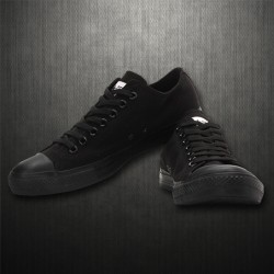 ~Converse Mens Chuck Taylor All Star Black Lowtop Sneaker Shoes