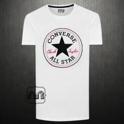 ~Converse White Crewneck Signature Graphic Printed Tshirt