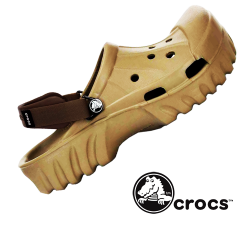 ~Crocs Offroad Khaki Chocolate Sandal