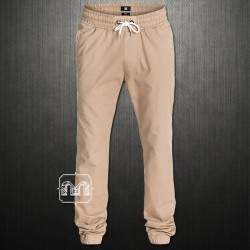 DC Shoes By Quiksilver Khaki Tapered Fit Men Hem Jogger Cuffed Skate Pants