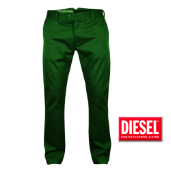 ~Diesel Olive Green Chi Tight Chino Pants