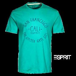 ~Esprit San Francisco CALI Green Roundneck Tshirt