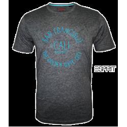 ~Esprit Mel Grey Printed Tshirt San Francisco CALI The Golden Gate City