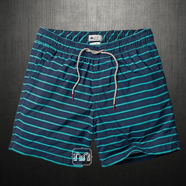 4032a1c0a3 Fat Face Men Fistral Navy Striped Swim Shorts Beach Wear   Malaabes ...