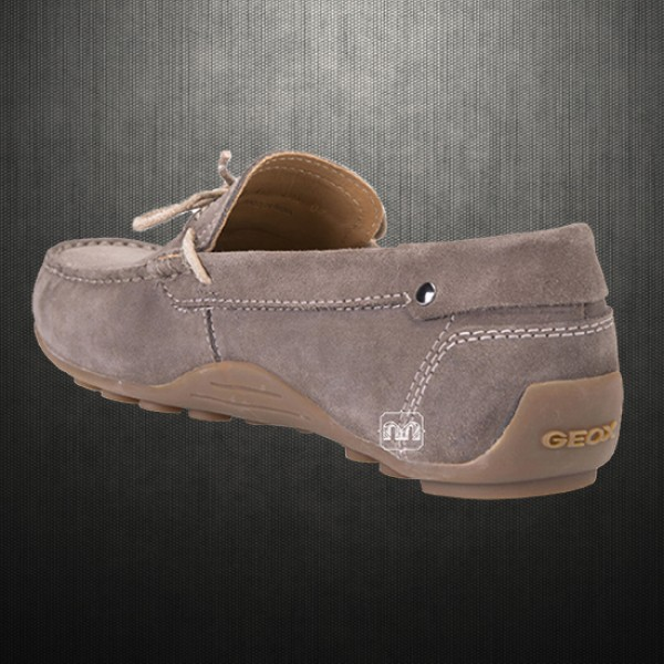 ad8a3fa53740 ... ~Geox Men Dove Grey Giona Suede Leather Driving Loafers Shoes