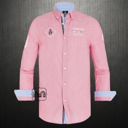 ~Gaastra Printed Button Down Fuschia Shirt