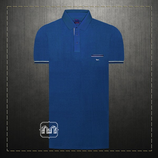 9a2ebd328 ~Harmont & Blaine Blue Pique Pocket Polo Shirt With Dachshund Dog Chest  Logo Embroidery Regular Fit   Malaabes Online Shopping Store in Egypt  Promoting ...
