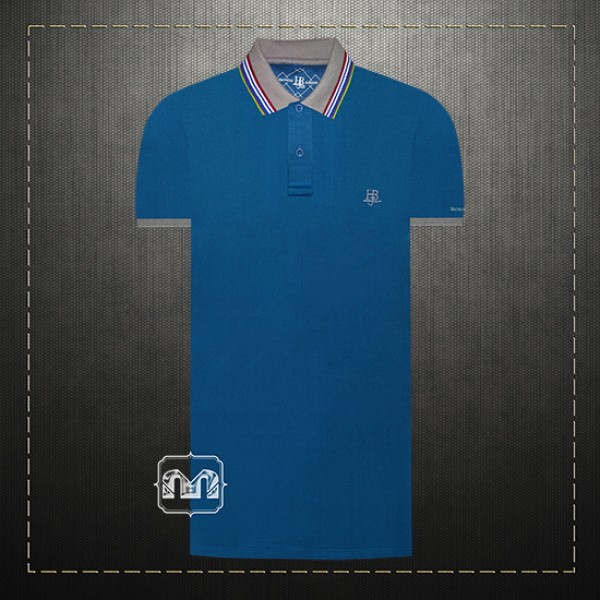 e098fc11 ~Harmont & Blaine Jeans Green Pique Two Toned Polo Shirt With HBJ Chest  Logo Embroidery & Grey Tipped Collar | Malaabes Online Shopping Store in  Egypt ...
