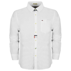 ~Hilfiger Denim White Long Sleeves Shirt