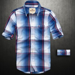 ~Hollister By Abercrombie & Fitch Beacon Beach Long Sleeve Plaid Shirt