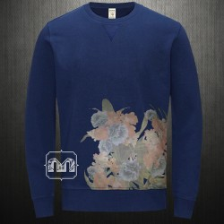 ~Jack & Jones Vintage Trop Navy Crewneck Sweatshirt