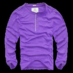 ~Jules Y Neck Violet Color Sweatshirt