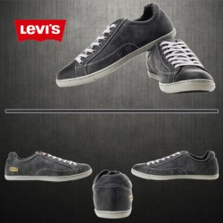 ~Levis Grey Casual Sneaker With Golden Logo