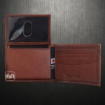 Nautica Mens Passcase ID Rich Tan Genuine Leather Wallet