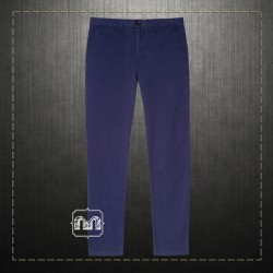 Paul Smith Jeans PS Men Blue Tapered Slim Chino Trousers Pants