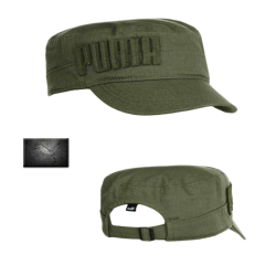 ~Puma Simon Military Cap Olive Green