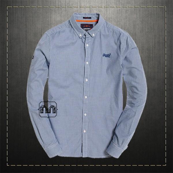 superdry navy shirt