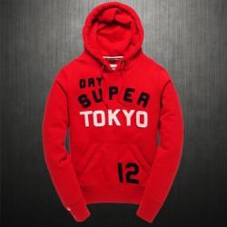 ~Superdry TOKYO 12 Red Hoodie