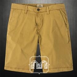 Timberland Mens Khaki Squam Lake Stretch Chino Straight Fit Bermuda Shorts