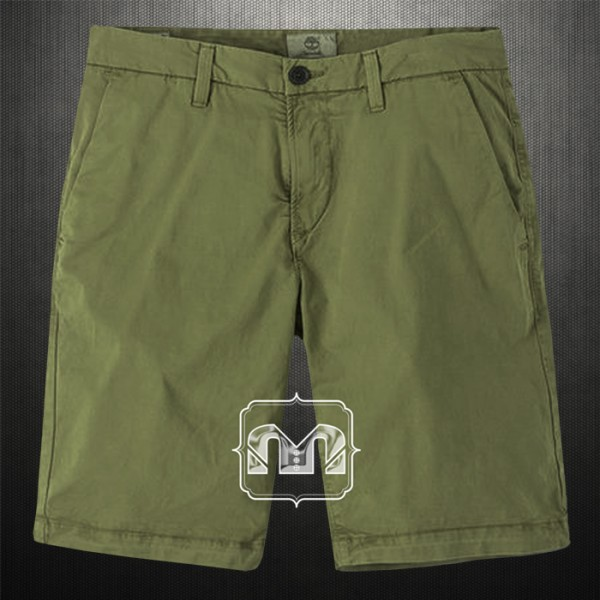 bbcdc1be85 Timberland Mens Olive Green Squam Lake Stretch Chino Straight Fit Bermuda  Shorts Back Flap Pockets