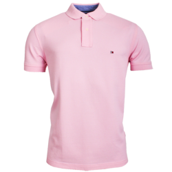 ~Tommy Hilfiger New Knit Light Pink Polo