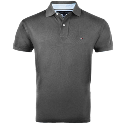 ~Tommy Hilfiger IVY Dark Grey Polo Shirt