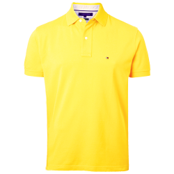 ~Tommy Hilfiger New Knit Yellow Polo Shirt