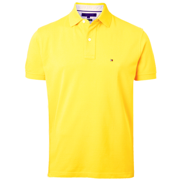 e1154d3dee4a70 ~Tommy Hilfiger New Knit Yellow Polo Shirt