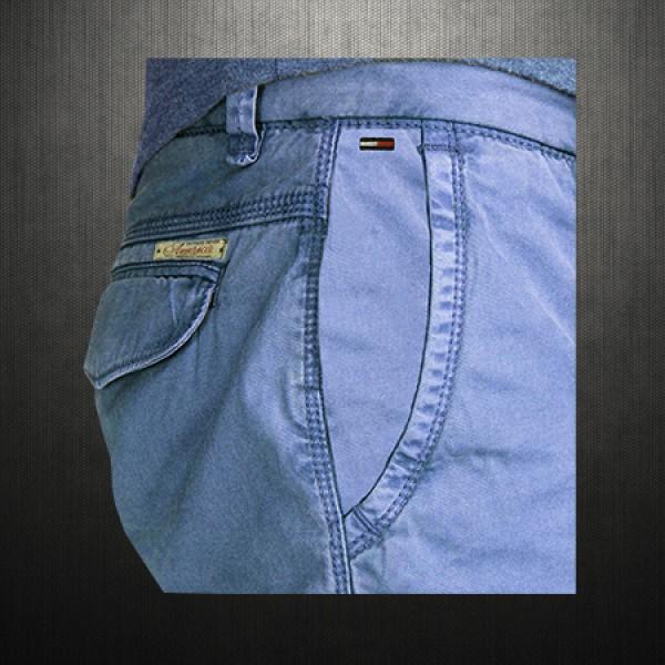 f4d4eaa6 Tommy Hilfiger Denim Mens Slim Fit Blue Freddy Chino Pants 5 Pockets ...