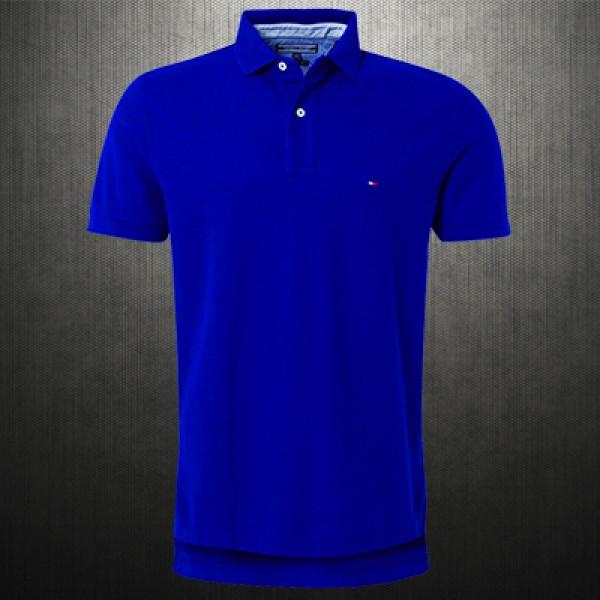 e67d559f3 ~Tommy Hilfiger New Knit Blue Polo Shirt