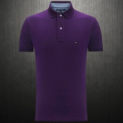 ~Tommy Hilfiger New Knit Dark Purple Polo