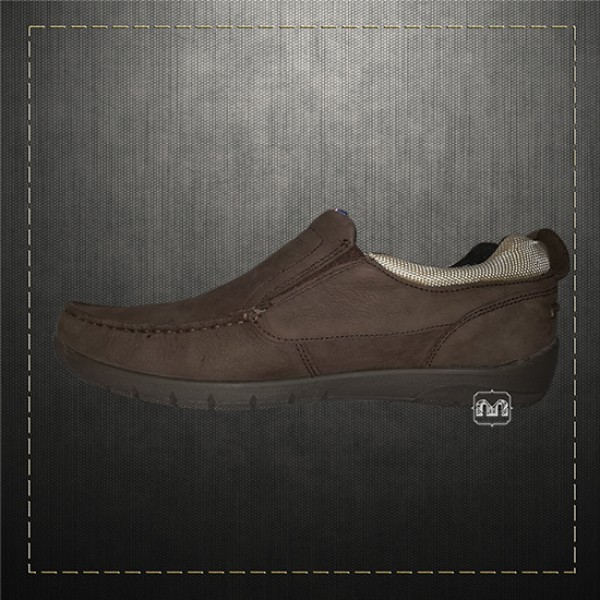 3ebaa32b0f56 Tommy Hilfiger Men Suede Leather Brown Slip on Shoes