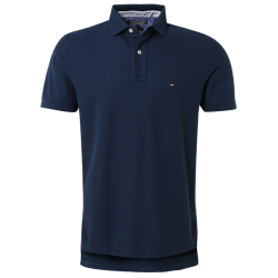 ~Tommy Hilfiger New Knit Navy Polo Shirt