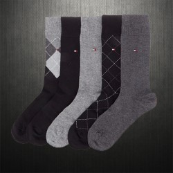 ~Tommy Hilfiger Pack of 5 Socks Multicolored