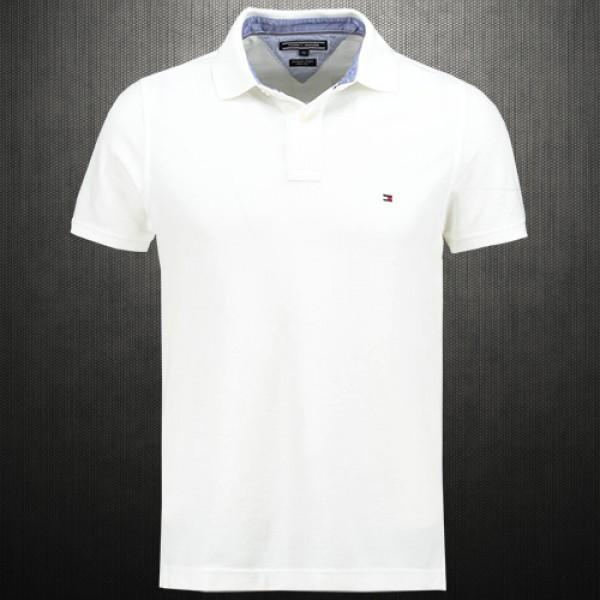 6d409731e ~Tommy Hilfiger New Knit White Polo Shirt