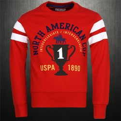 ~US Polo Assn Red Roundneck Sweatshirt