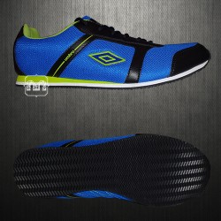 Umbro Blue Black Casual Trainers Shoes