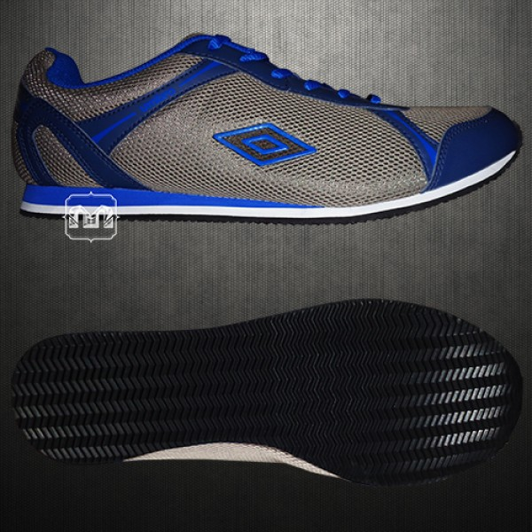umbro grey blue casual trainers shoes malaabes