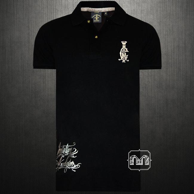 Christian audigier ed hardy los angeles mens black regal for All polo shirt brands