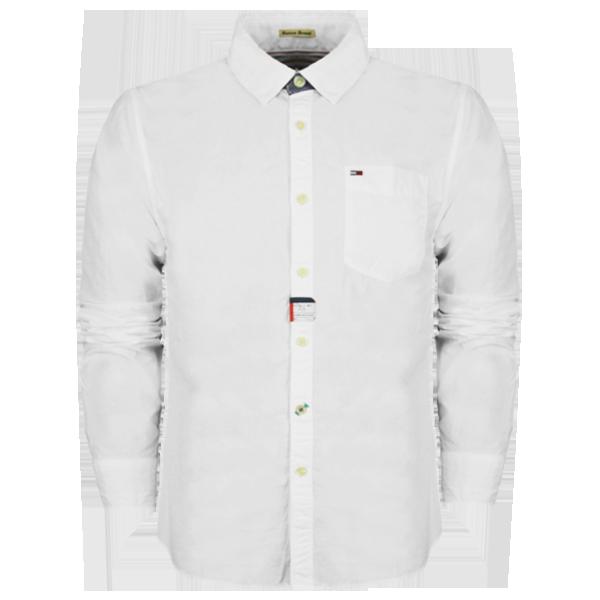 Hilfiger Denim White Long Sleeves Shirt Malaabes Online Shopping Store In Egypt Promoting Original Mens Designer Clothing Brands